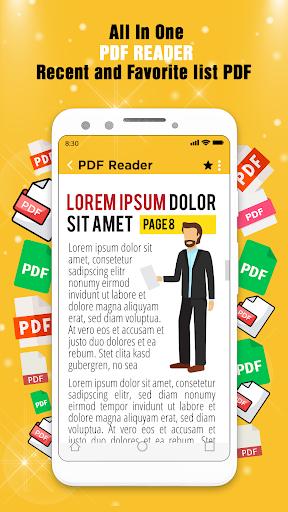 PDF Reader 2020 screenshot 1
