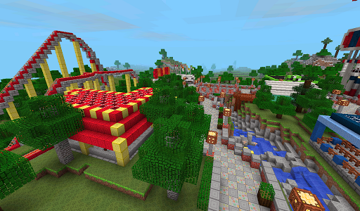 Cubed Crafts Survival Exploration Games screenshot 2