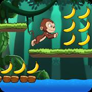 Banana world - Bananas island - hungry monkey