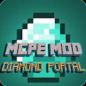Mod Diamond portal Para MCPE icon