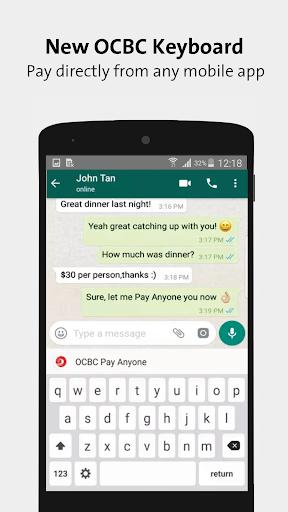 OCBC SG Mobile Banking  screenshots 3