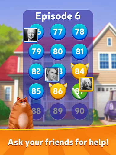 Kitty Scramble: Word Stacks screenshots 13