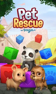 Pet Rescue Saga: miniatura de captura de pantalla