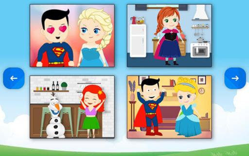 玩免費休閒APP|下載Princesses & Heroes - Puzzle app不用錢|硬是要APP