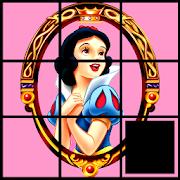 Snow White Slide Puzzle Sliding Puzzle For Kids Google Playde
