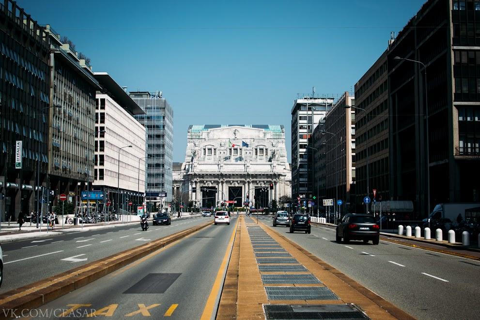 Центральный вокзал Милана.