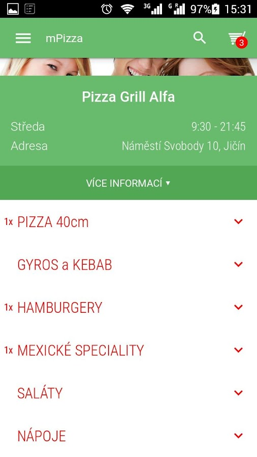 Pizza Grill ALFA- screenshot