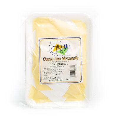 queso topchef mozzarela 250gr