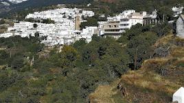 Vista de Bayárcal, pueblo de la Alpujarra almeriense que ha empatizado con la tragedia de Totalán