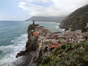Photo: Hiking out of Vernazza on the way to the next destination: Corniglia