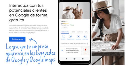 Cómo lograr que tu empresa aparezca en Google Search y en Maps