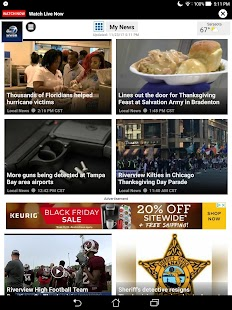 ABC 7 Tampa Area News App- screenshot thumbnail
