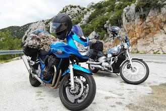Photo: I oba nasze motorki :D