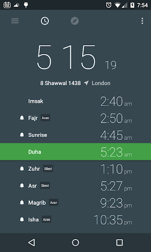 Prayer Times and Qibla ss1