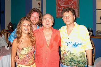 Photo: With Jimmy Buffett in Puerto Aventuras, Mexico
