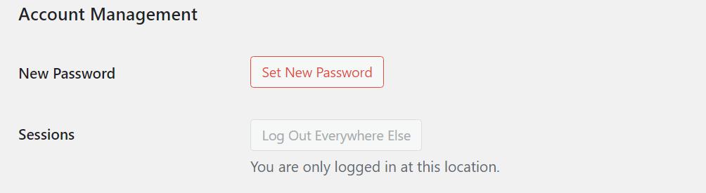 Set New Password
