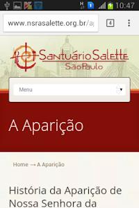 Nossa Senhora da Salette screenshot 3