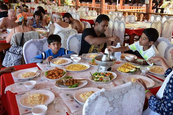 Enjoy Thai lunch on Koh Panyee