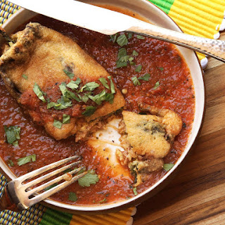 Chiles Rellenos (Mexican-Style Cheese-Stuffed Chilies)