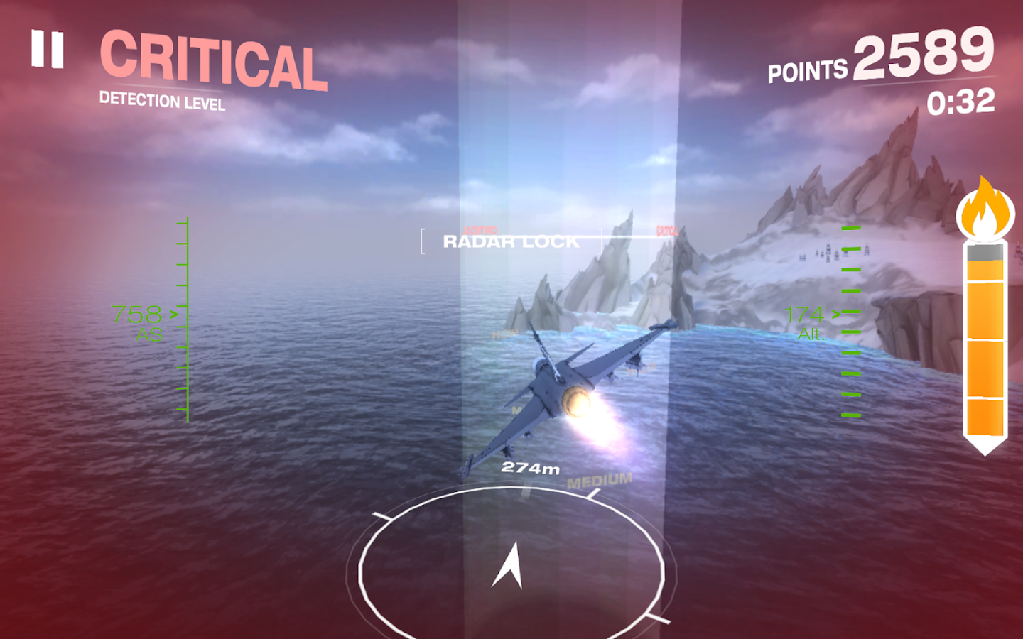 Gripen Fighter Challenge- screenshot