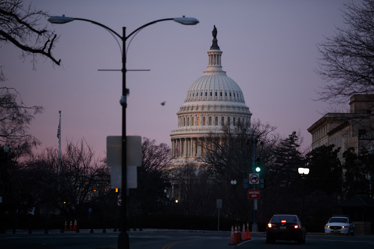 The US Capitol building in Washington, DC. Picture: TING SHEN/BLOOMBERG