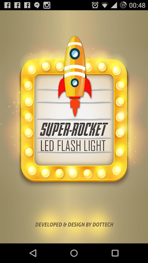 Super-Rocket LED Torch Plus