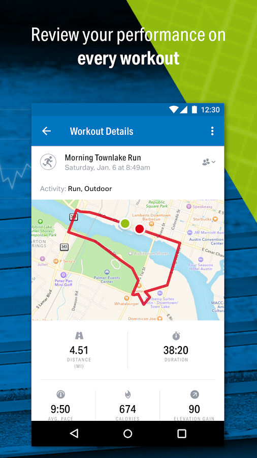 Run with Map My Run Android Apps on Google Play