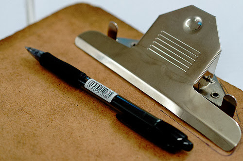 Clipboard by Dave Crosby via Flickr, Creative Commons.