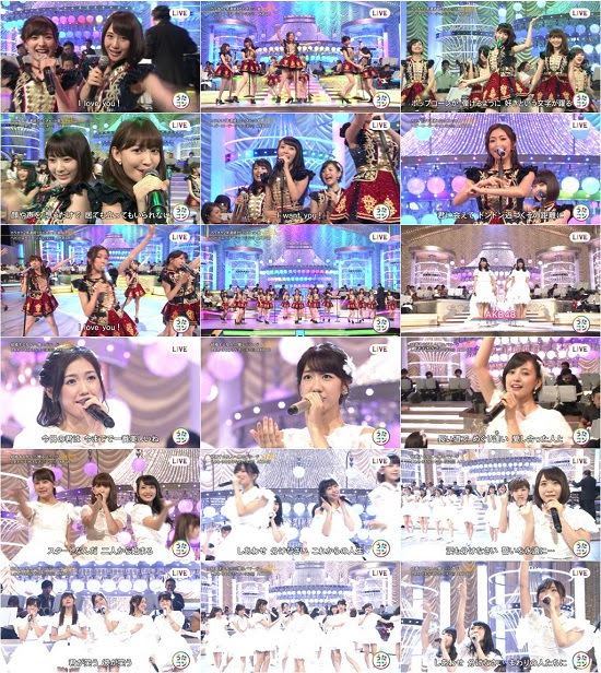(TV-Music)(1080i) AKB48 Part – うたコン 160906