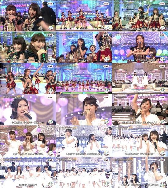 160906 AKB48 Part - うたコン