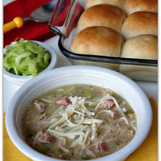 Recipe for Slow Cooker Chicken Cordon Bleu Soup