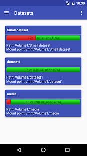 FreeNAS Manager screenshot