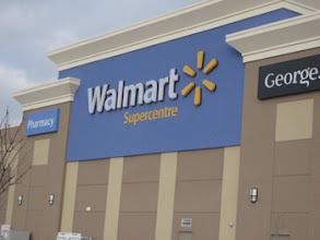 Photo: After dropping my daughter off at the bus, my son and I arrive at Walmart on the hunt for #EqualCanada