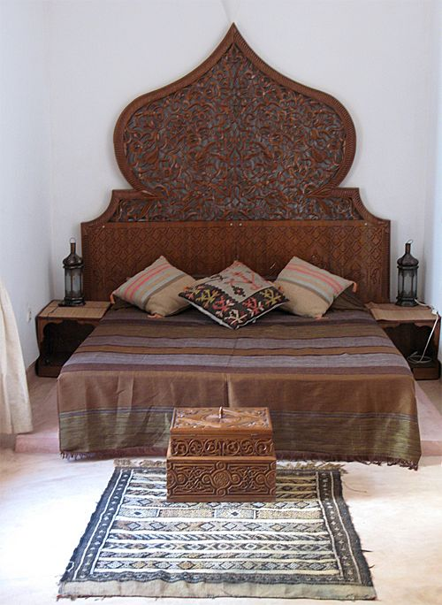 Typical Moroccan-Style Headboard