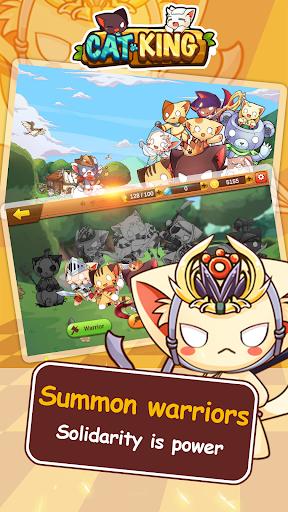 Cat King -  Battle Dog Wars: RPG Summoner 1.0 screenshots 1