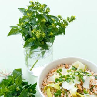 Deconstructed Pesto Couscous Salad.