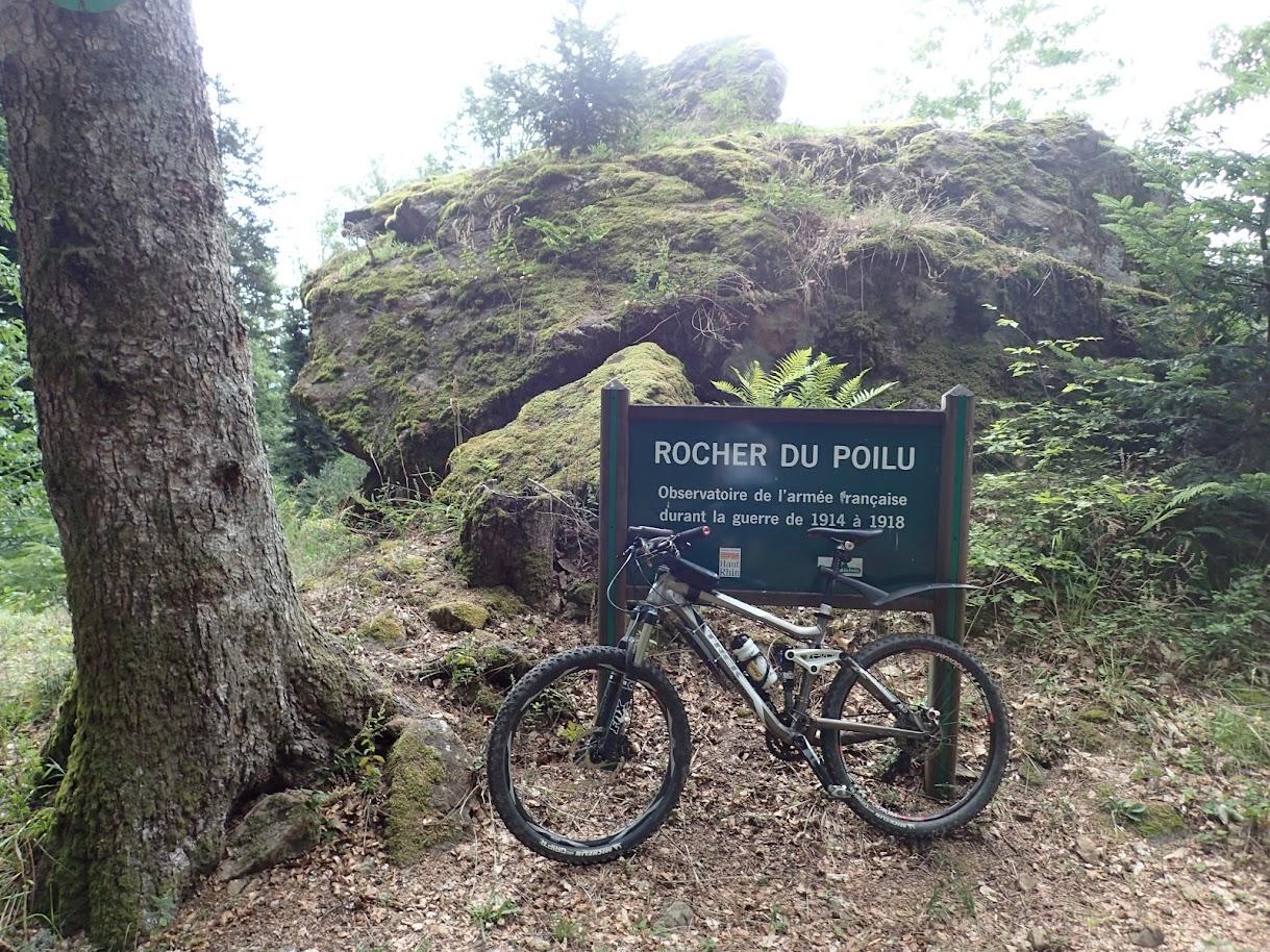 Doller-Rocher du Poilu à VTT