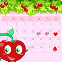 Period Tracker Calendar & Ovulation Calculator icon