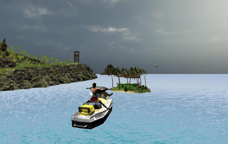 Скриншот Turbo Patrol Boat GT Drive 3D
