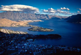 Photo: Queenstown from the hill