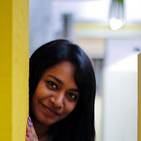 Smiles by Nanda Kumar - People Portraits of Women