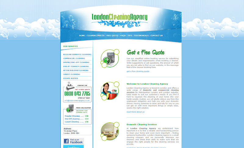 Photo: London Cleaning Agency www.londoncleaningagency.co.uk