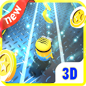 Banana minion rush 3D