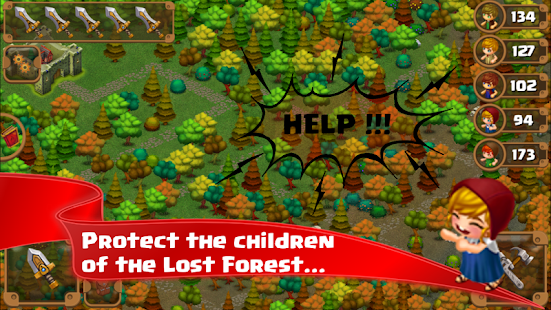 Lost Forest TD- screenshot thumbnail