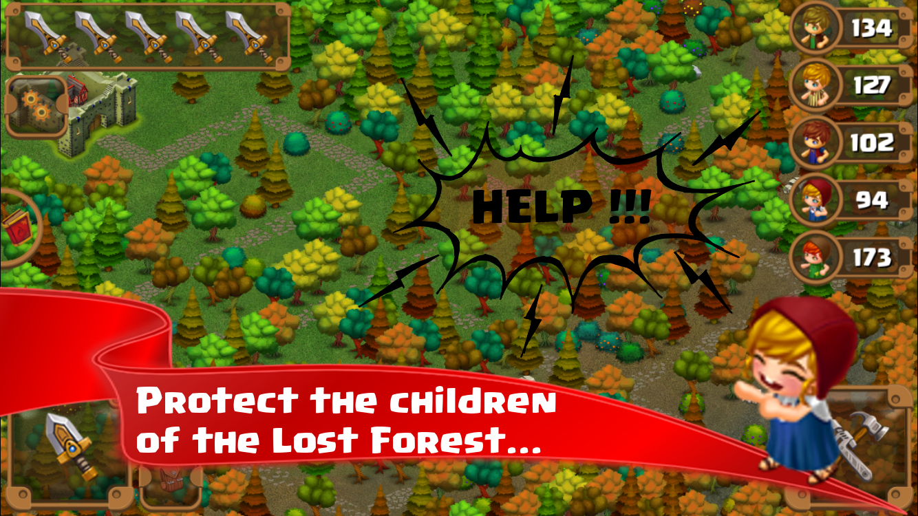 Lost Forest TD- screenshot