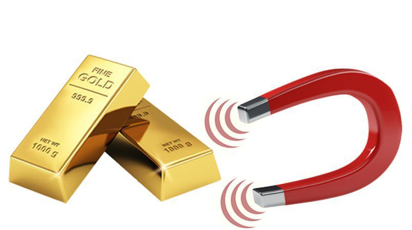 Is Gold magnetic?
