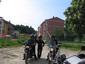 Photo: Nach dem Gruppenbild mit Damen und zwei Fabios geht es los.