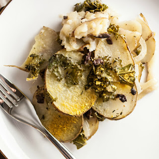 Greek Scalloped Potato Gratin.