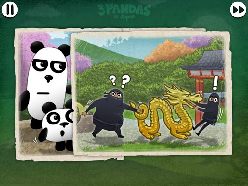 3 Pandas in Japan : Adventure Puzzle Game screenshots 18