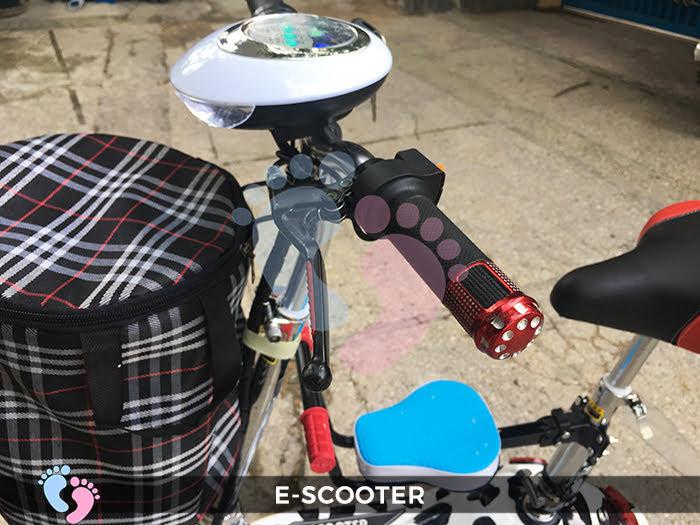 Xe điện E-Scooter mini gấp gọn 13